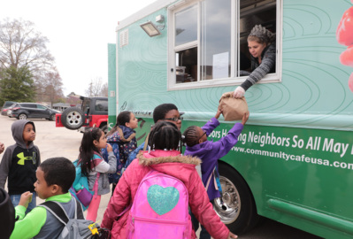 'Serving love': Community Cafe food truck means more meals to those in need