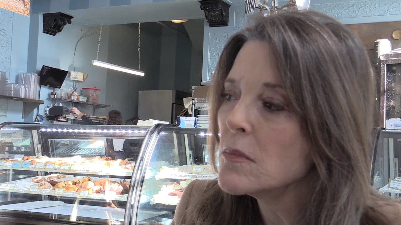 Exclusive Marianne Williamson interview: 'I'm not going away and I'm not being quiet'