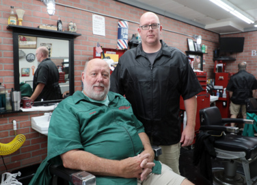 'Connection, community and a great haircut': Fort Mill barber shop tradition continues