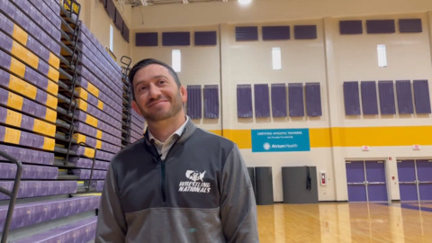 Why Northwestern's new wrestling coach could intensify Rock Hill rivalry