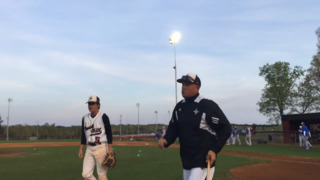 Rock Hill assistant coach Mike Partlow explains the hardest skill in baseball