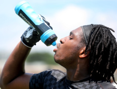 Football players: 'even the wind is hot' at Rock Hill 7-on7 tournament