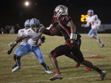South Pointe football falls to A.C. Flora 14-41