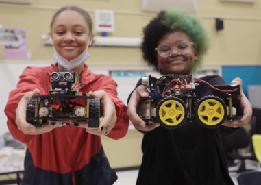 Can robotics… be fun? Yep. Just ask the kids at the Rock Hill Schools' summer camp