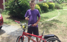 Custom bike stolen from Rock Hill autistic boy; police find it broken behind store