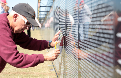 'Together in history': Vietnam memorial wall connects veterans in York County