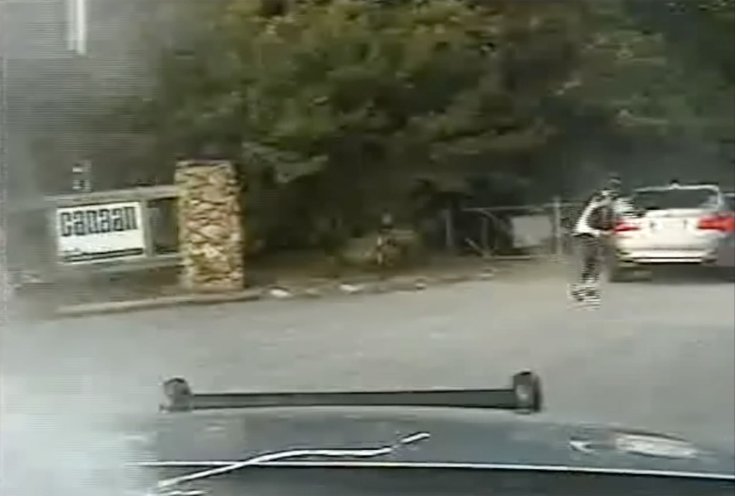 Dashcam video shows suspect shooting 'cop killer' bullets at York County trooper
