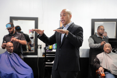 Sen. Cory Booker visited Rock Hill barbershops and a church. Here's what he had to say