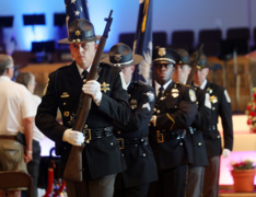York County police honor injured and fallen law enforcement at memorial service