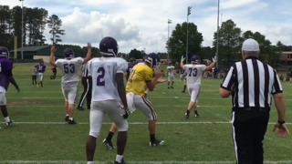 Highlights from Northwestern Trojans' 2018 spring football scrimmage