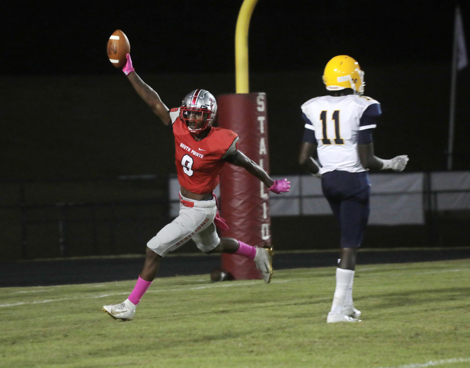 Tahleek Steele, second half defense carries South Pointe over Lancaster, 42-21