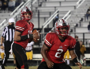South Pointe varsity football defeats Greenwood in overtime