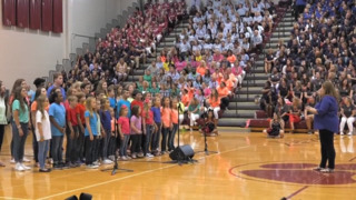 Rock Hill educators celebrate back to school with pep rally