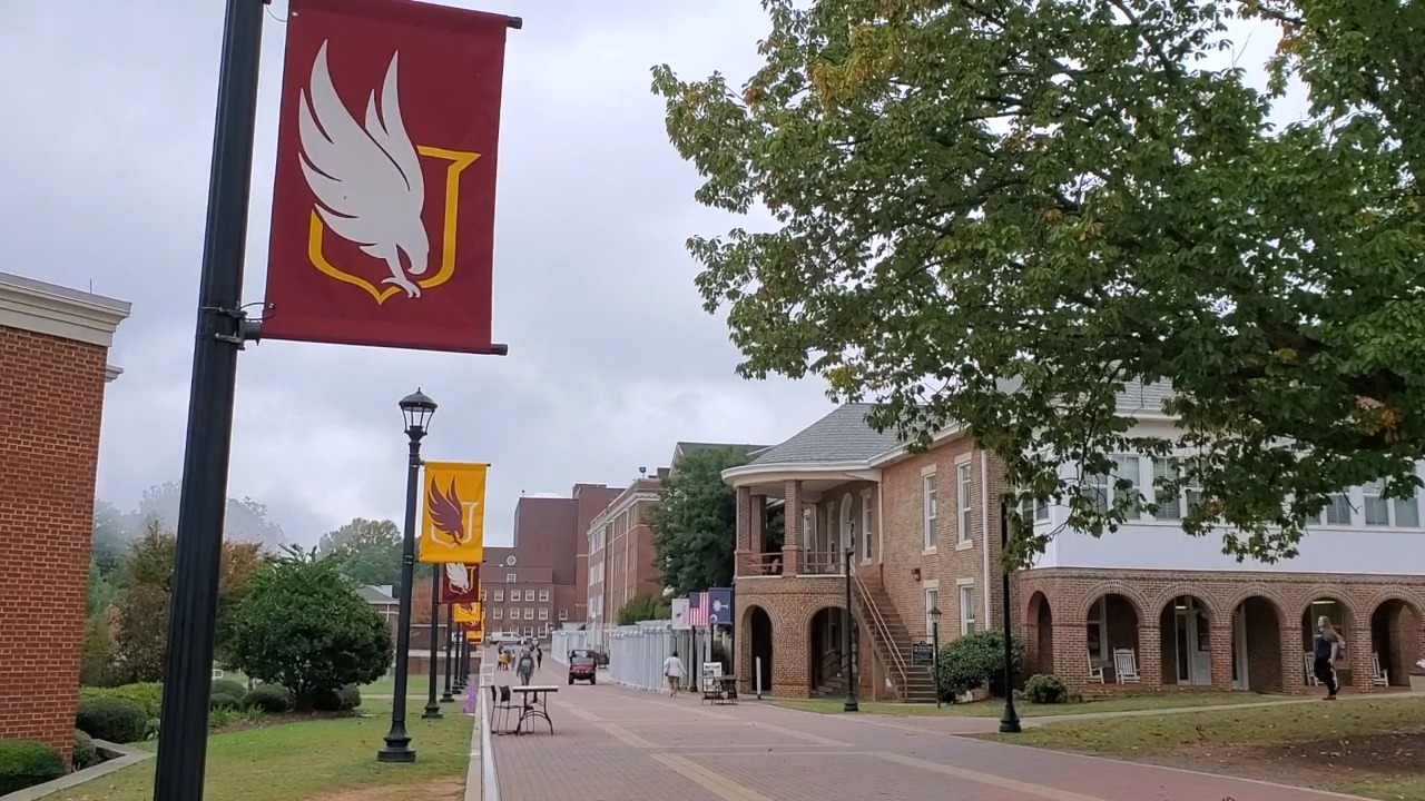 'Left out of the conversation': Winthrop students protest interim president hiring