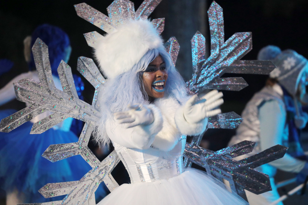 Carowinds' Winterfest opens Sunday with 'whimsical' parade. On-site hotel now open