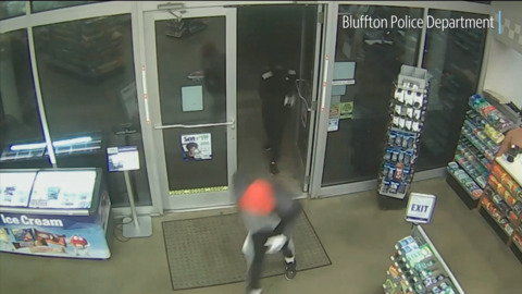 'I need this money, bro': Bluffton Police release video from gas station armed robbery