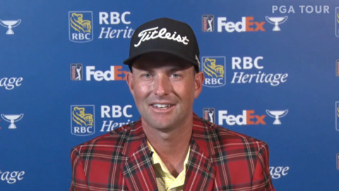 For Webb Simpson, Father's Day win at RBC Heritage is extra special