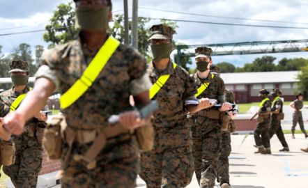 To stop the spread of the coronavirus among recruits, Parris Island is making changes