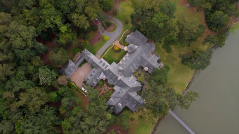 Take a look inside the castle-like Bluffton mansion that's up for auction in China