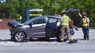 Video from the scene of Wednesday morning wreck on S.C. 170 in Okatie