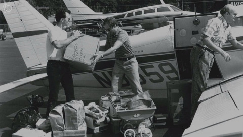 Beaufort Co. helped survivors of Hurricane Hugo with supplies, food after being spared