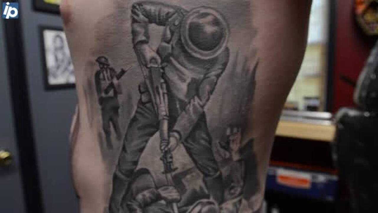How these Marines remember the fallen \u2014 with ink and metal