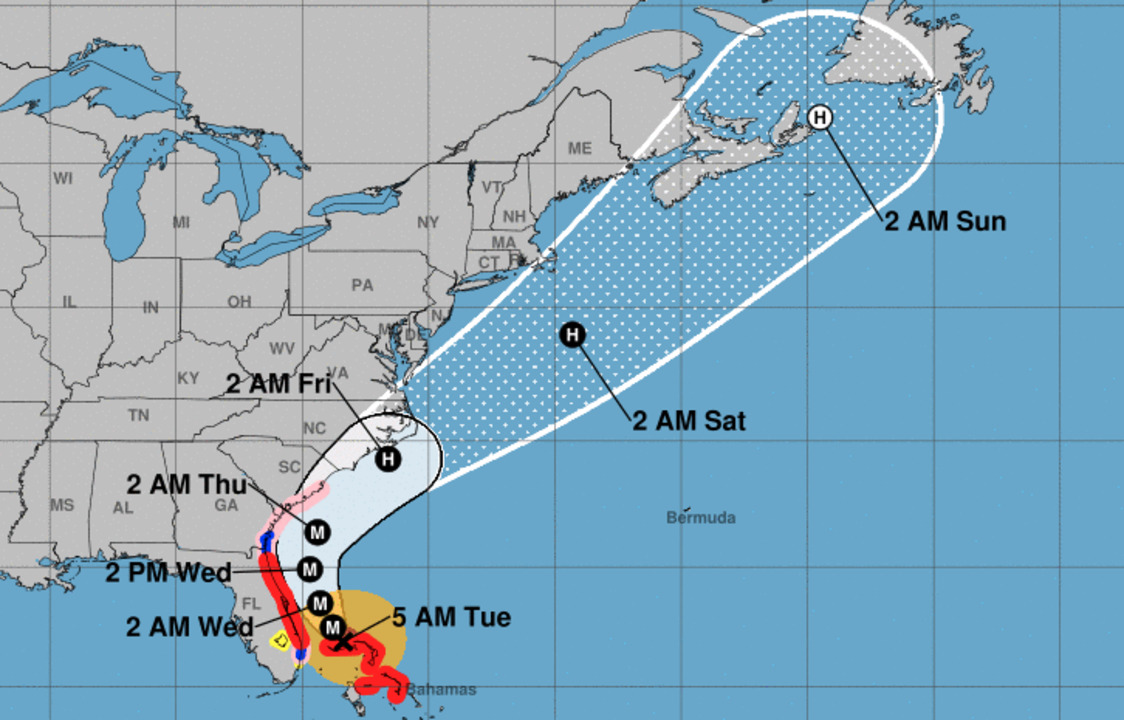 Ready for Tropical Storm Nestor? It could bring much-needed rain to the Carolinas