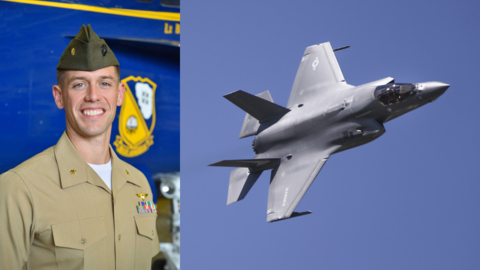 Here's the story of the MCAS Beaufort Marine set to be Blue Angels' first F-35 pilot
