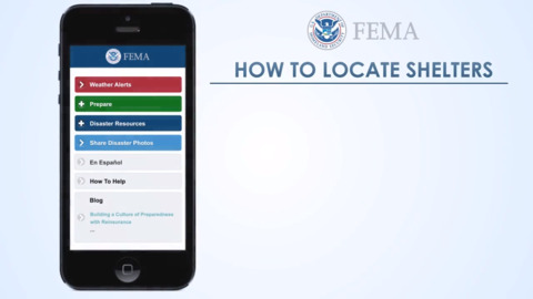 How to use FEMA's mobile app to locate open shelters during hurricane, other disaster