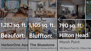 What can $1300 a month in rent get you in Bluffton, Beaufort or on Hilton Head?