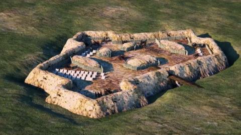 Fort Howell: 3D animation shows Hilton Head's Civil War fort in 1864