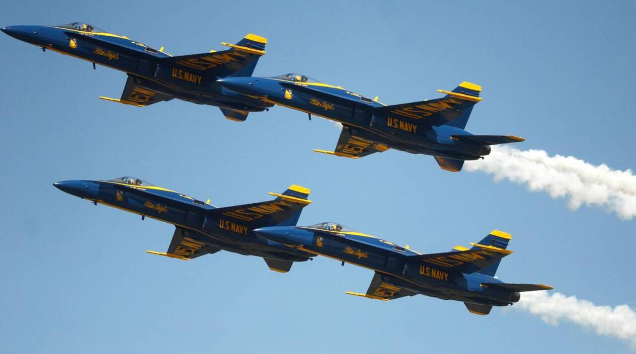 MCAS Beaufort Air Show schedule: Find out when the Blue Angels fly