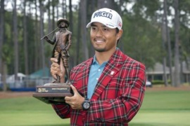 Here's what Satoshi Kodaira got for winning his first PGA tournament at RBC Heritage