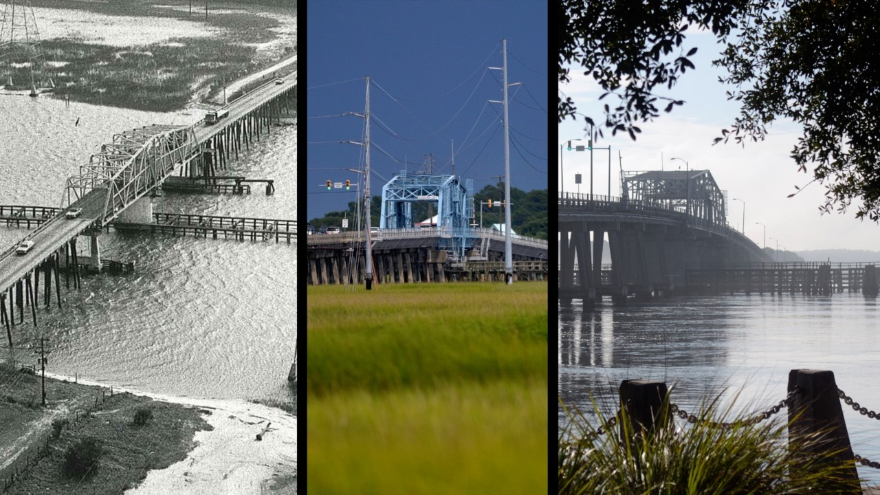 Typically drive on this Beaufort bridge? You may consider a different route tonight
