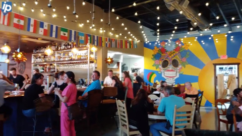 Here's a quick look around the new Tio's Latin American Kitchen in Shelter Cove