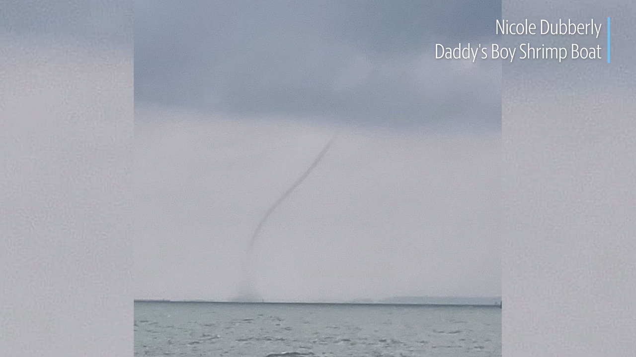 Waterspouts are popping up from Tybee and Daufuskie to Hunting Island. More are likely