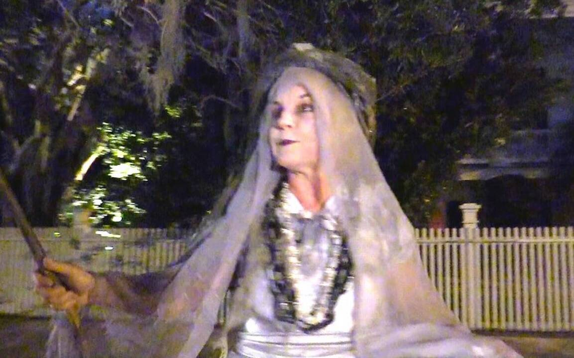 He was an apprentice embalmer when this ghostly folk tale of old Beaufort came to life