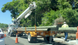 Here's what caused the traffic jam on Beaufort's Boundary Street