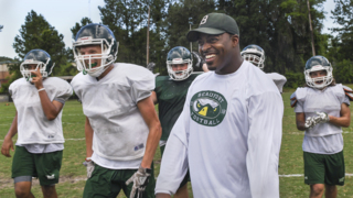 'I love it:' DeVonte Holloman on high school coaching and the origins of his style