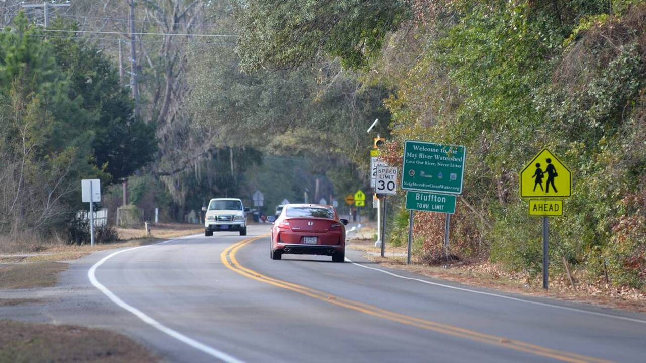 How did Bluffton's Burnt Church Road get its name? | Hilton