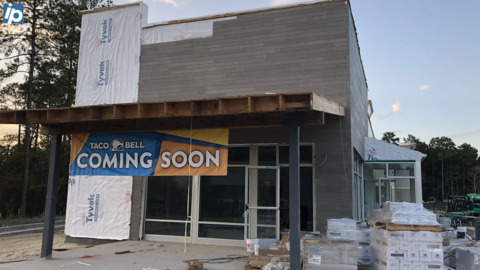 Bluffton Taco Bell renovation finishing soon, and an additional location opening nearby
