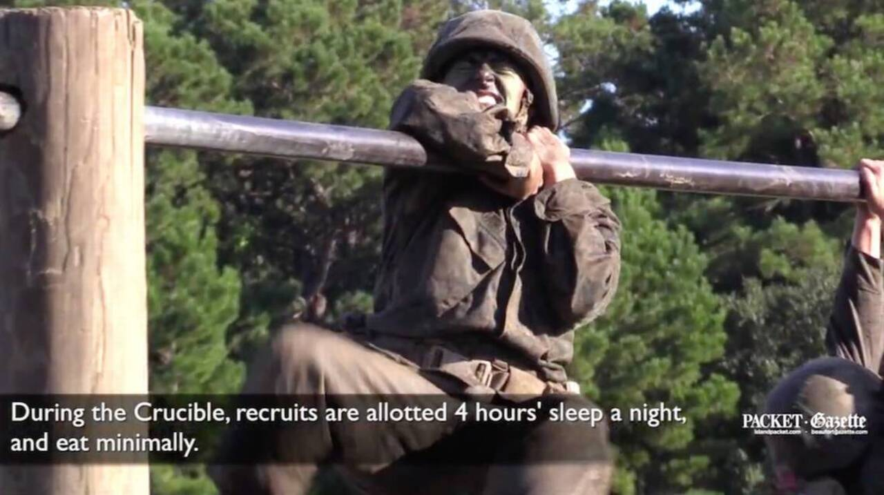 The Crucible: No Parris Island recruit can become a Marine