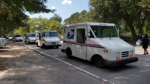 Hilton Head's first African American letter carrier honored at funeral by postal service