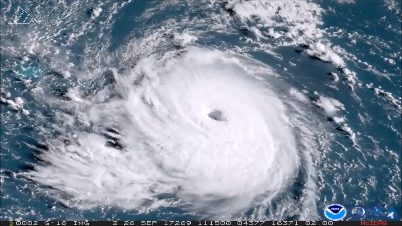 Hurricane season isn't over yet. A new storm is strengthening in the Atlantic