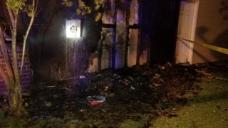 3 people, 5 cats escape Beaufort County house fire