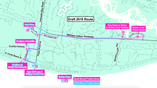 Where will Hilton Head's new trolley service take you? Here's the proposed route