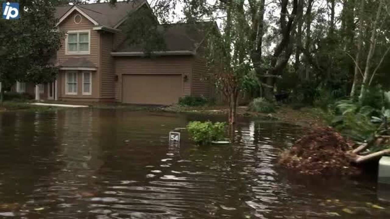flooding on hilton head day after matthew