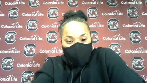 What South Carolina's No. 1 ranking banner means to Dawn Staley
