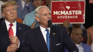 Watch the moment Trump introduced McMaster in Columbia