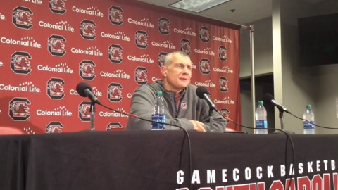 Frank Martin: 'Trust' was key for South Carolina to upset No. 14 Mississippi State